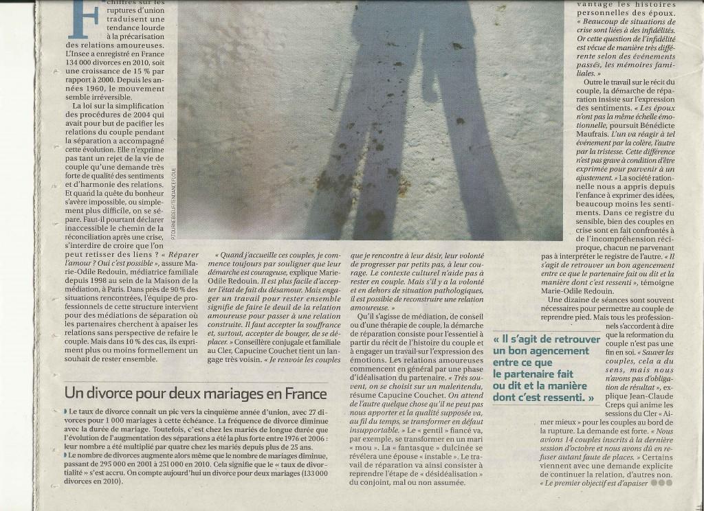 Extrait La Croix, 30 Nov 2012 2/4
